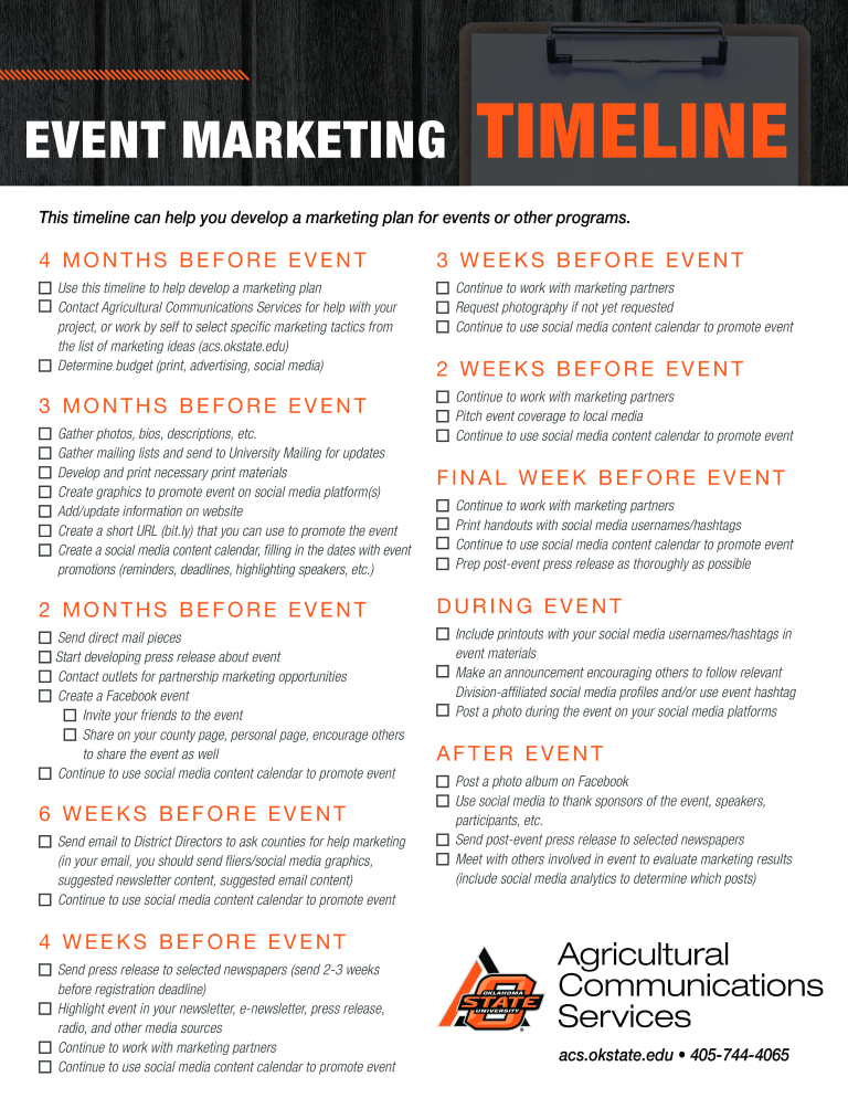 Free event marketing timeline templates at allbusinesstemplates event marketing timeline main image download template maxwellsz