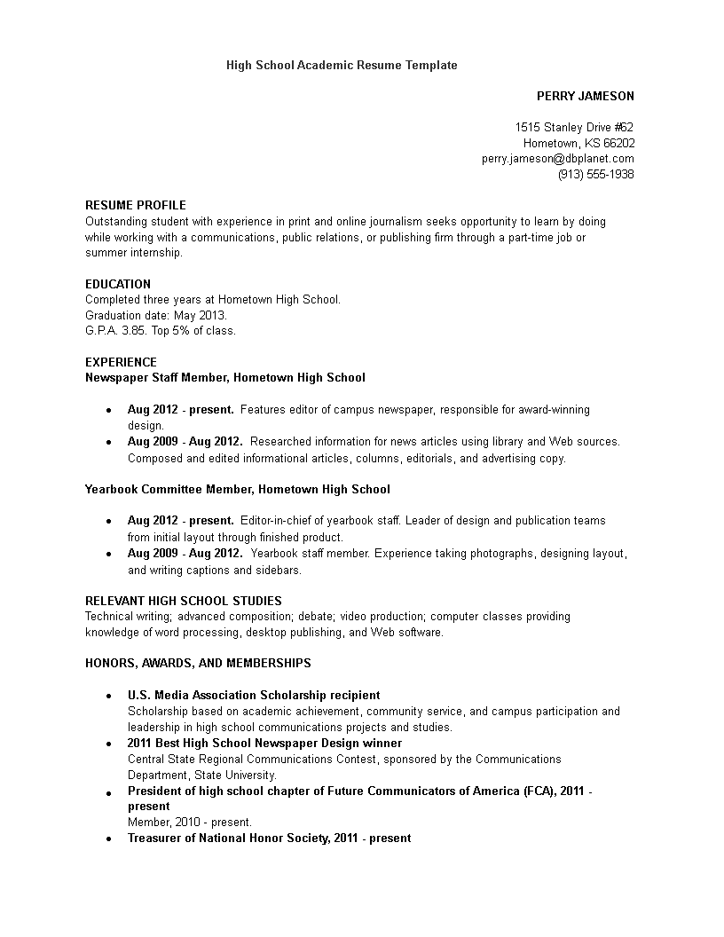 free communications and journalism resume template templates at