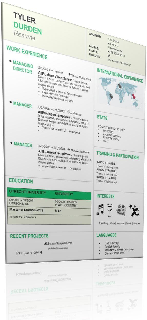 expatriate resume  expat resume