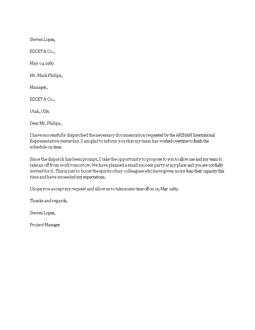 letter asking for time off from work time request letter templates at 27991 | 0639befe a981 42a7 bb78 d363908dce15 1