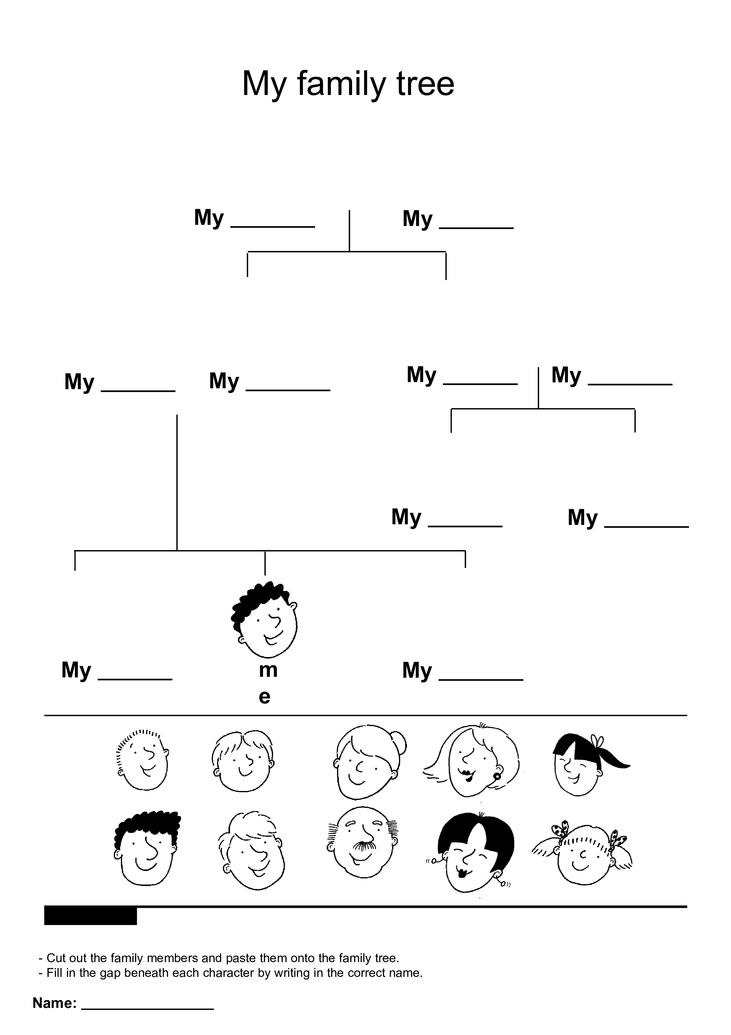Family Tree Children main image