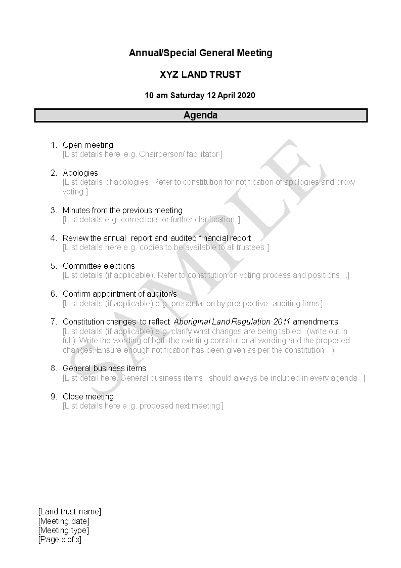 Free agenda outline templates at allbusinesstemplates zoom template image accmission Image collections