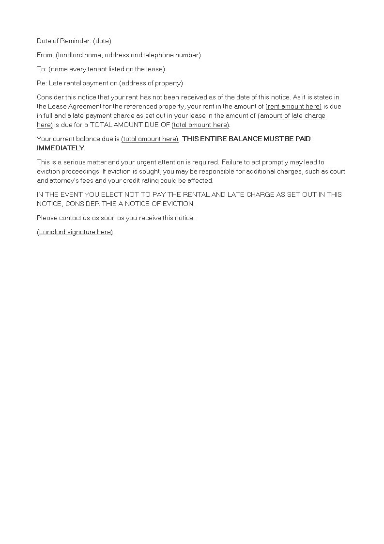 Warning Letter To Tenants from www.allbusinesstemplates.com