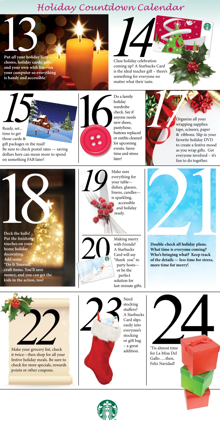 Free holiday countdown calendar templates at allbusinesstemplates holiday countdown calendar main image solutioingenieria Choice Image