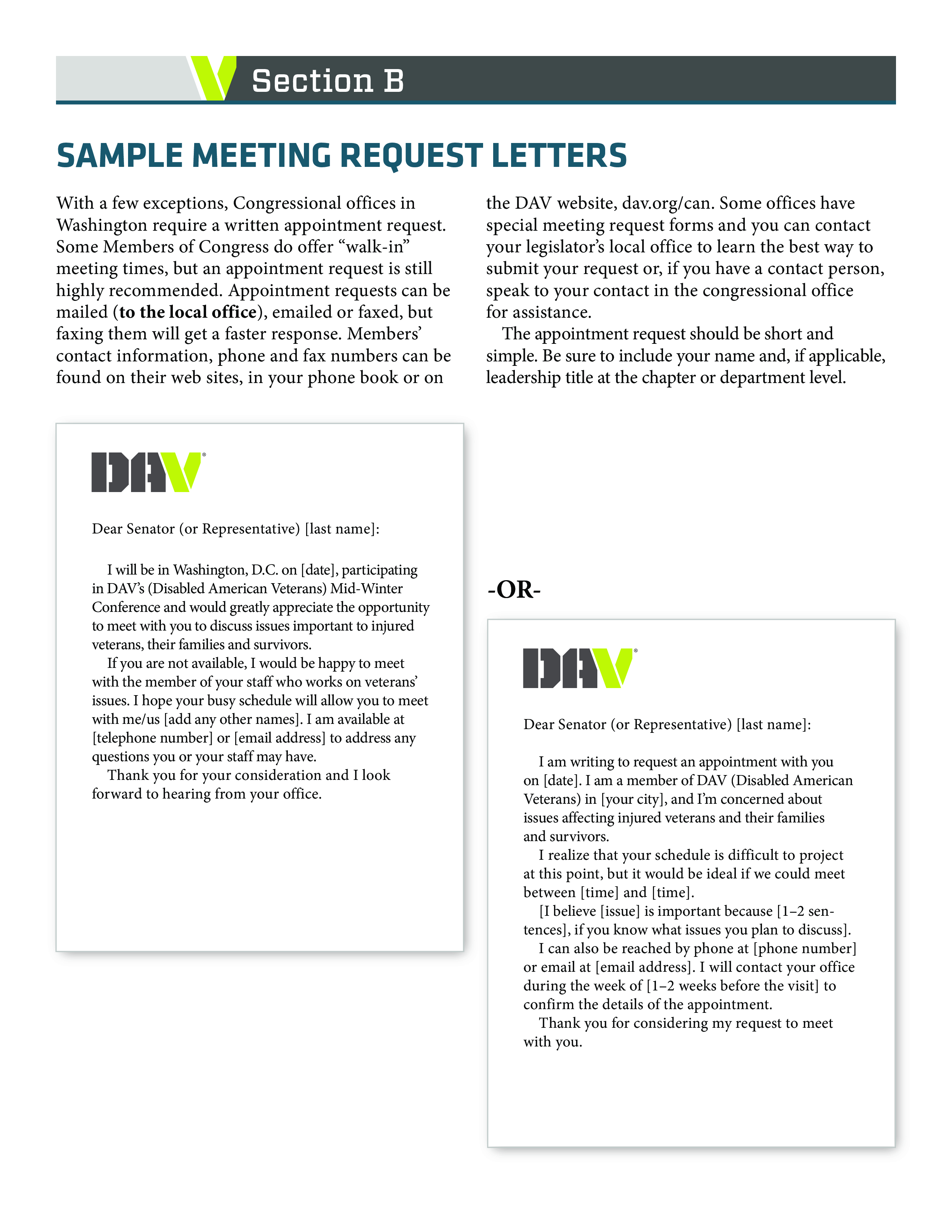 Free Business Meeting Appointment Letter Templates At