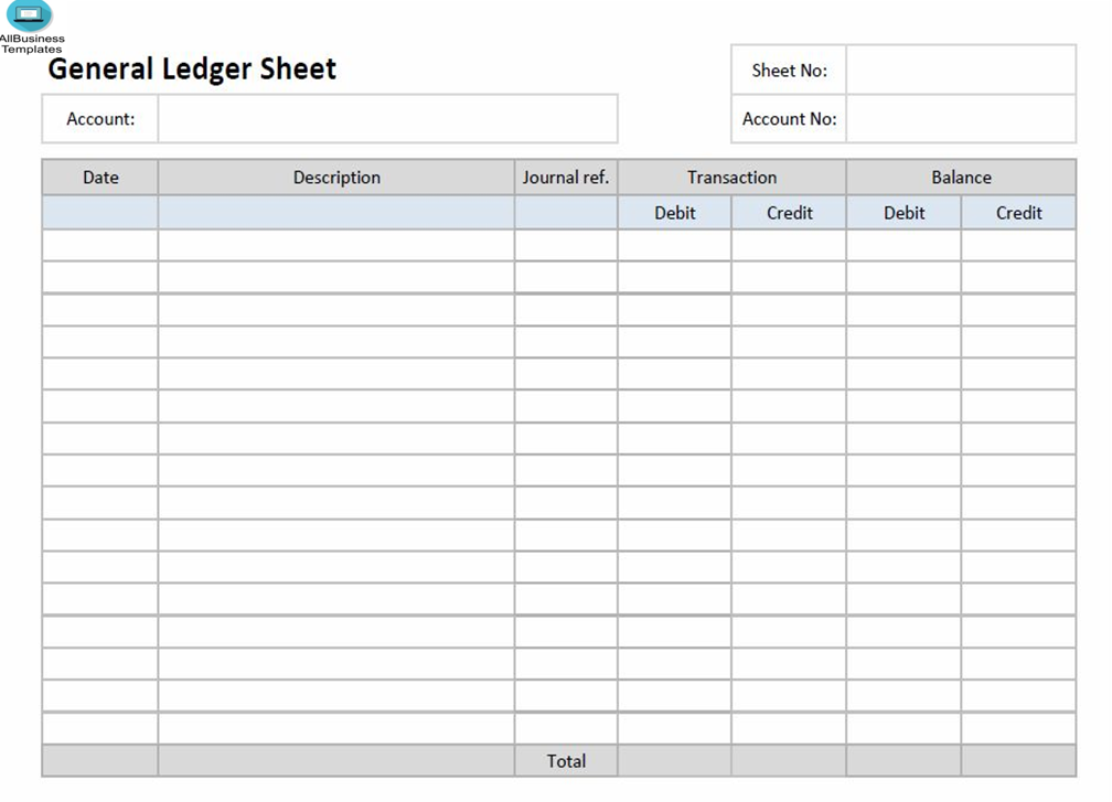 free ledger paper template excel templates at