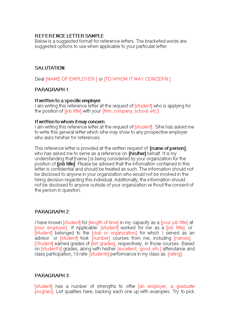 Job Reference Letter Format from www.allbusinesstemplates.com