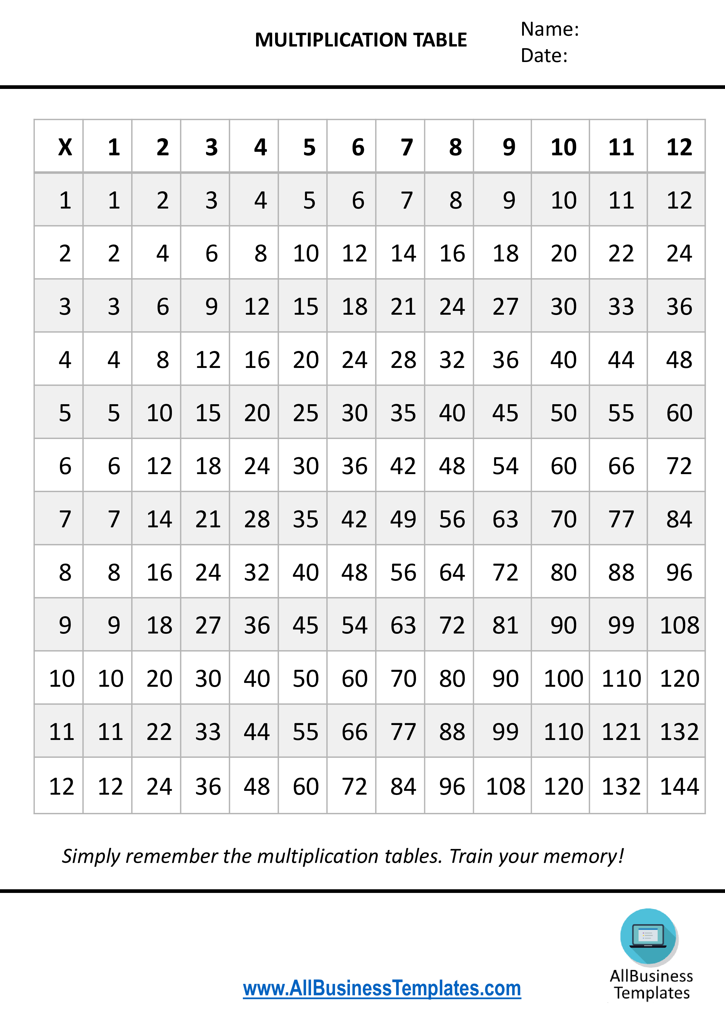 It's just a picture of Multiplication Chart 1 20 Printable inside blank