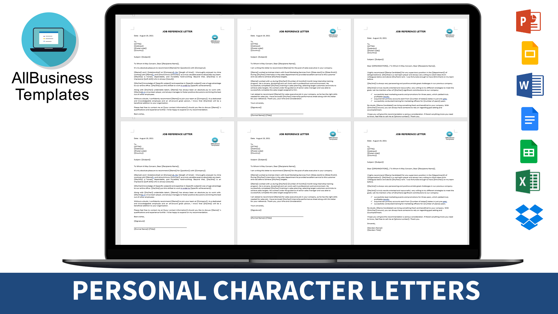 Professional Character Reference Letter from www.allbusinesstemplates.com