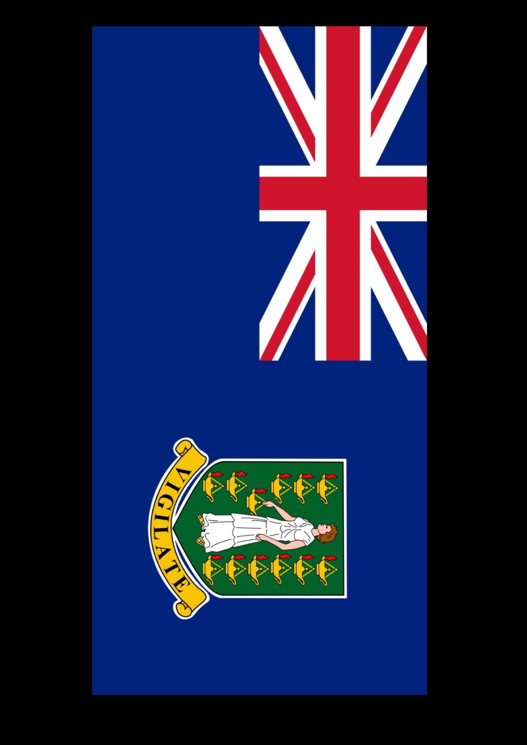 免费british virgin islands flag