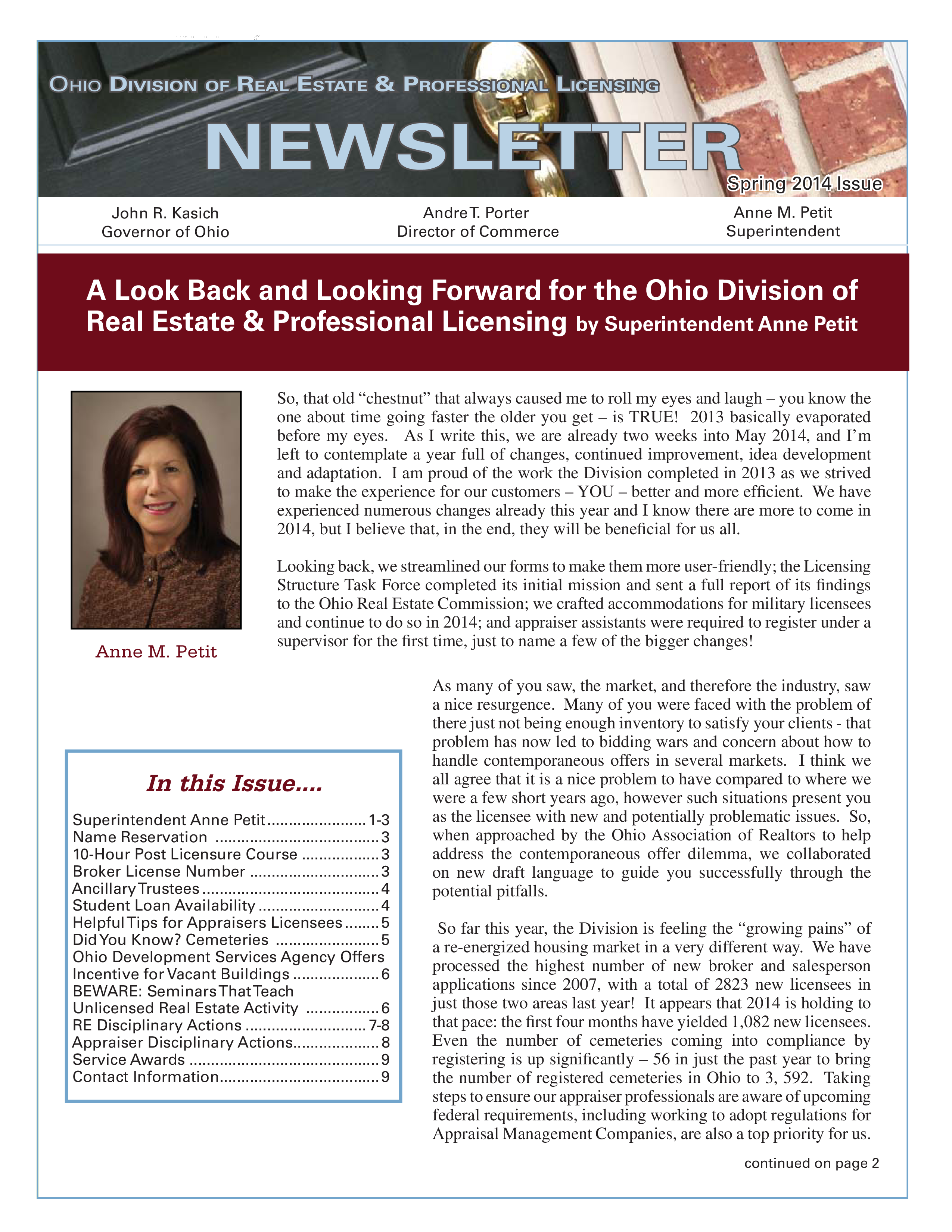Real Estate Newsletter | Free Real Estate Newsletters For Agents Templates At