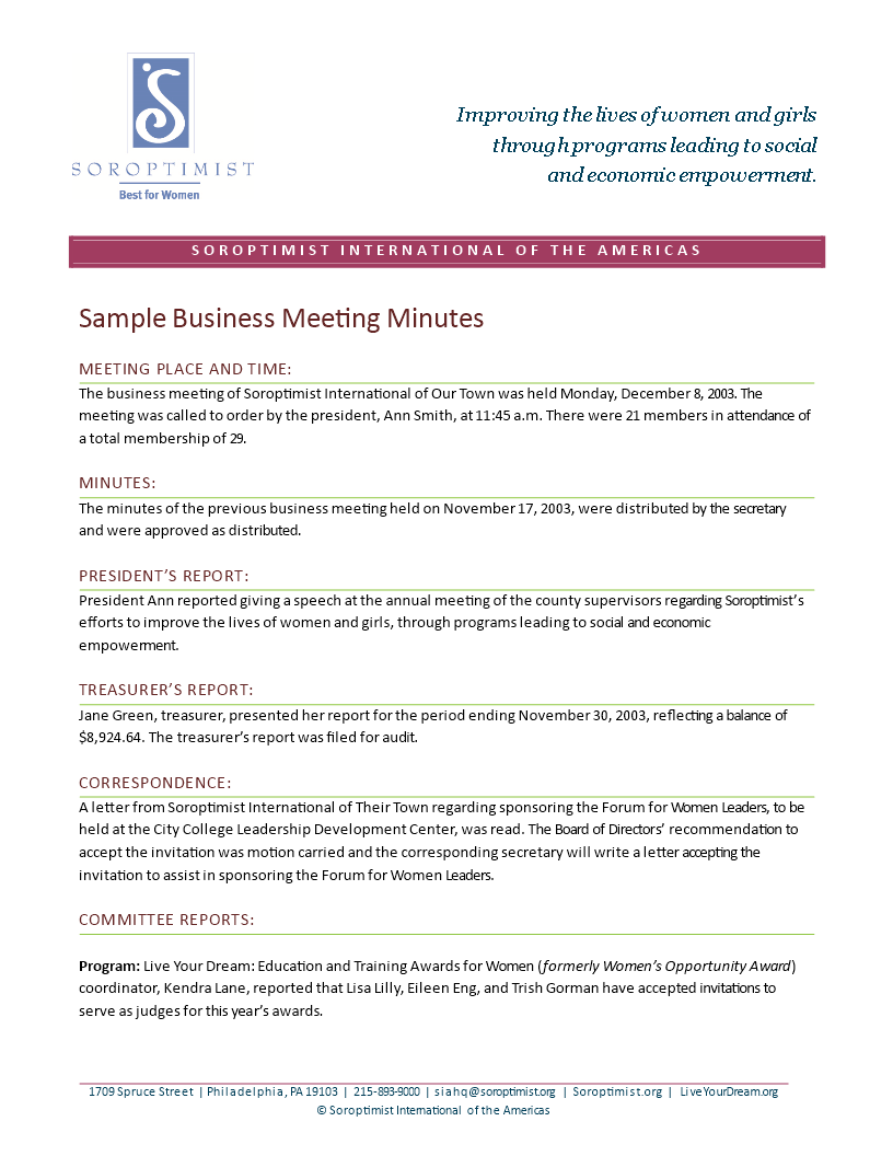 Free business meeting minutes templates at allbusinesstemplates business meeting minutes main image download template fbccfo Choice Image