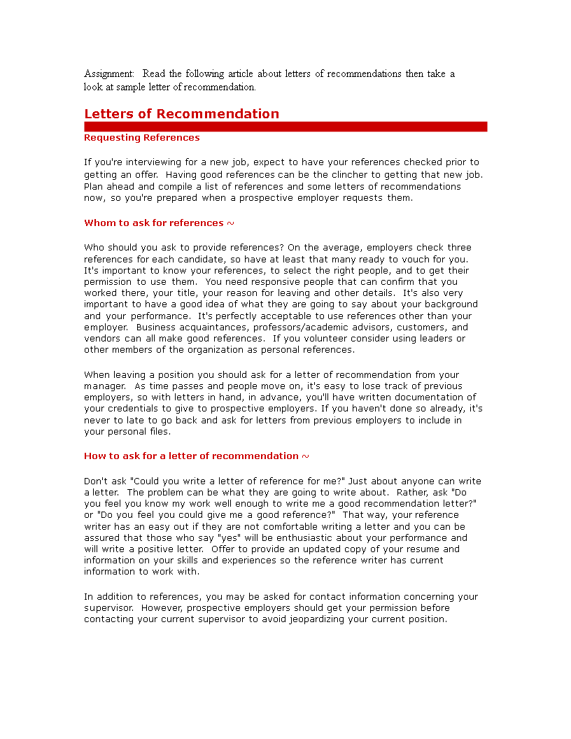 Letter Of Recommendation Template For Employee from www.allbusinesstemplates.com