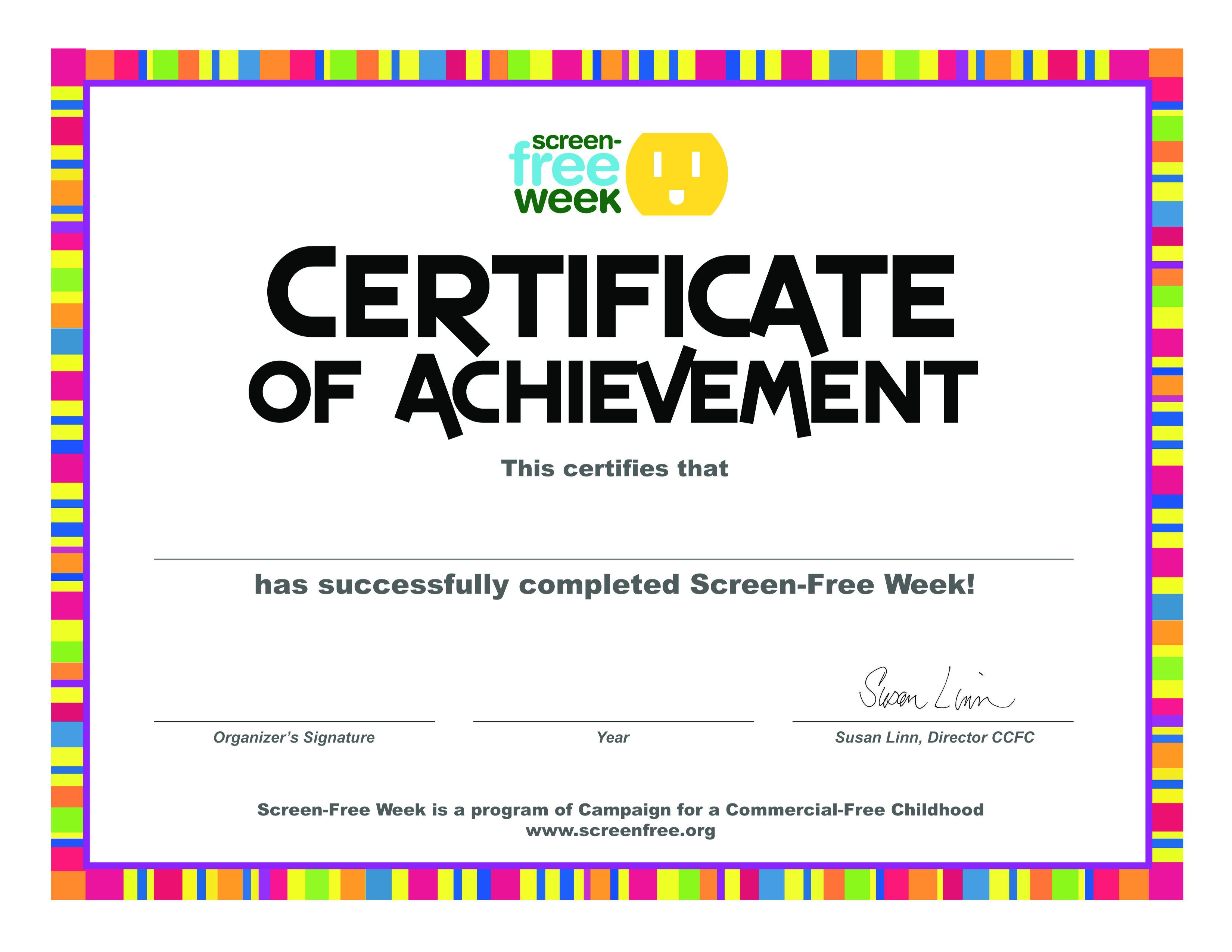 impressive Certificate Of Achievement main image