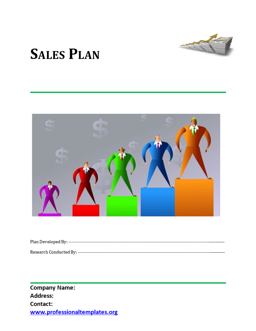 Sales Plan Template main image