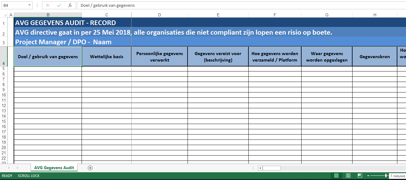 Avg data privacy audit voor mkb templates at allbusinesstemplates avg data privacy audit voor mkb main image get template maxwellsz