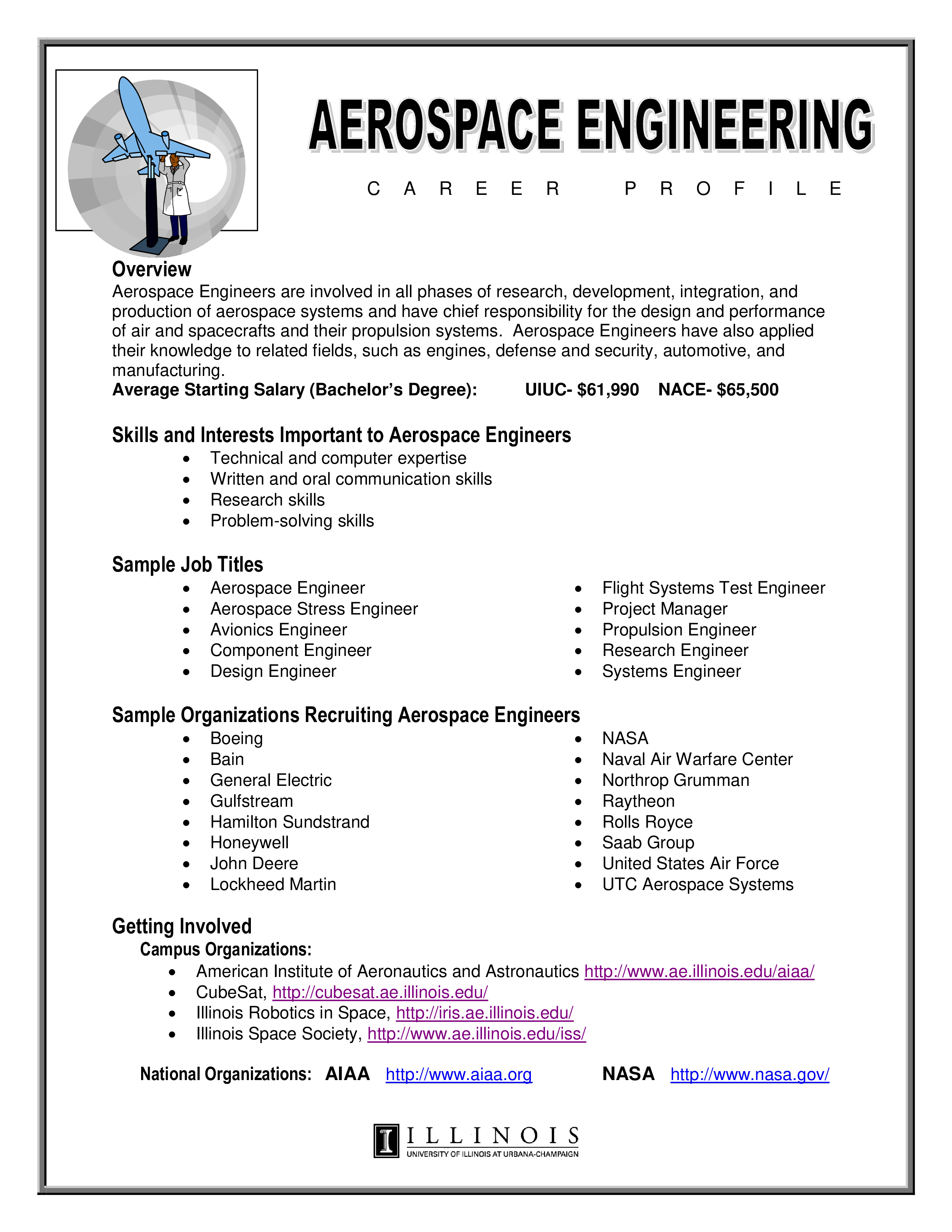 Free Experienced Aerospace Engineering Resume | Templates at ...
