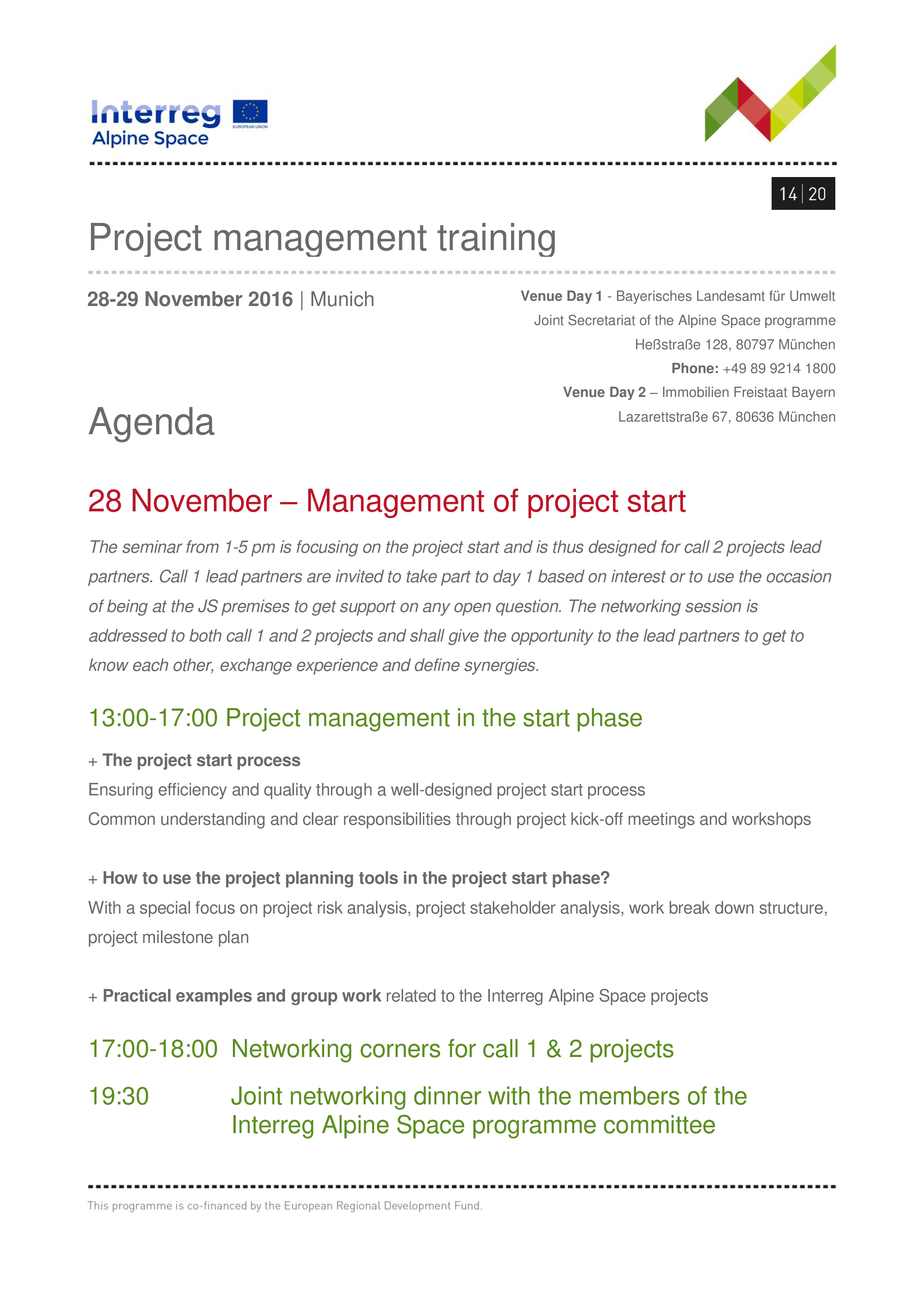 Project Management Agenda Main Image Download Template