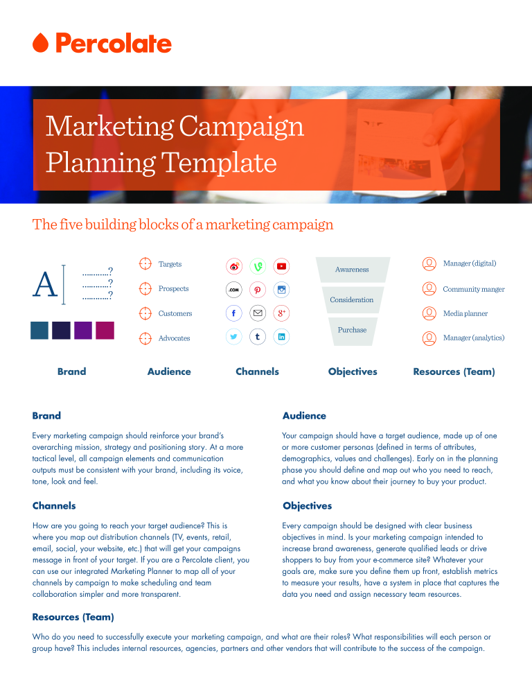 Free Marketing Campaign Plan Template Templates At - Marketing campaign schedule template