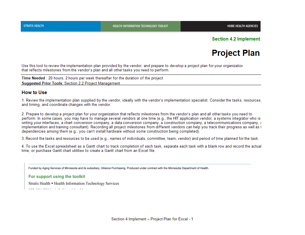project plan example sheet main image