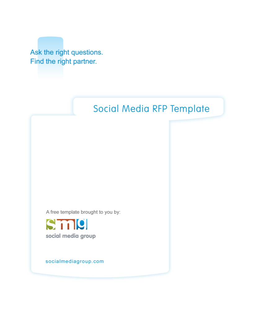 Social Media Request Proposal | Templates at