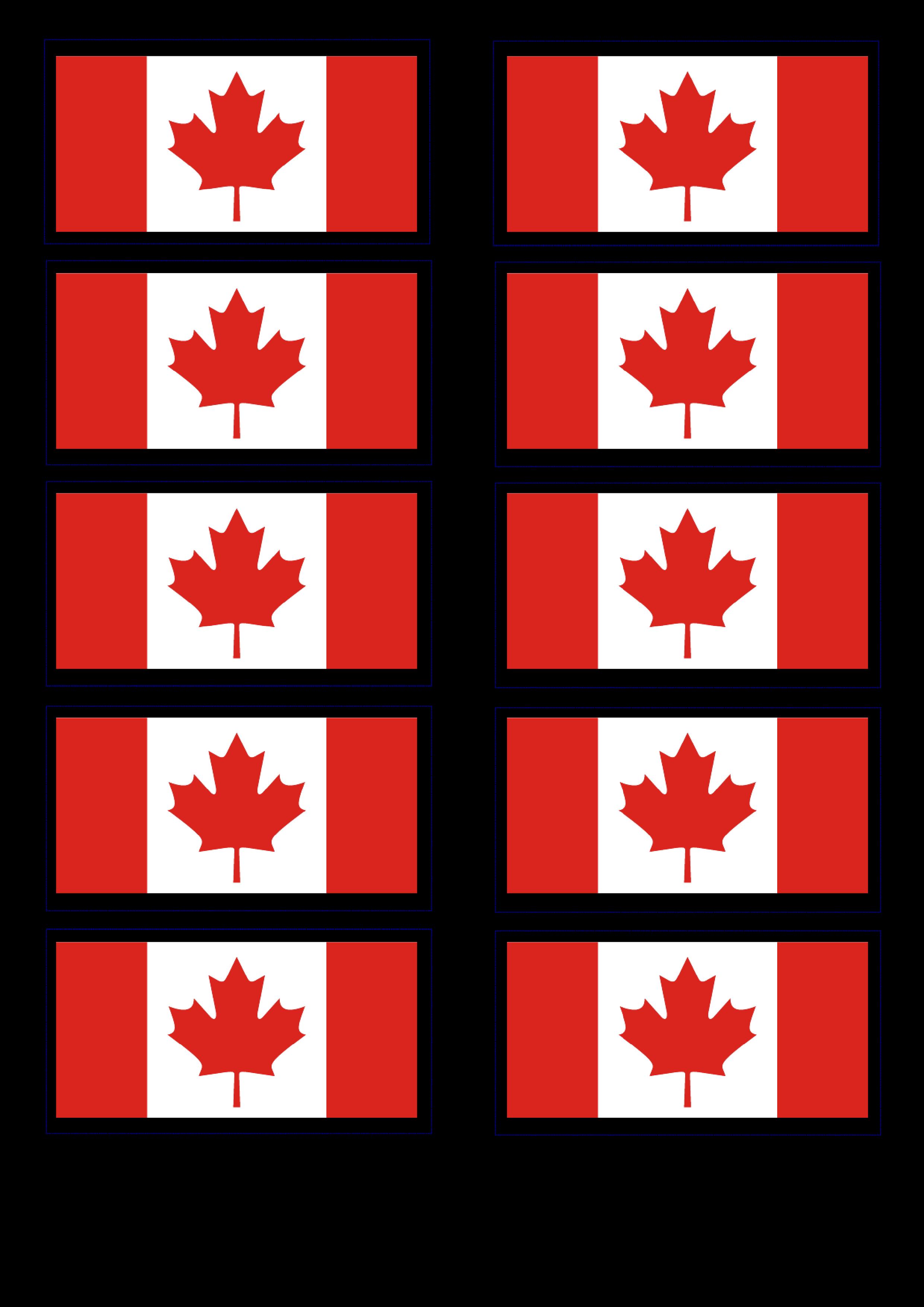 free canadian flag templates at allbusinesstemplates com