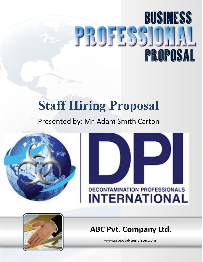 Free Staff Hiring Proposal Template | Templates at ...