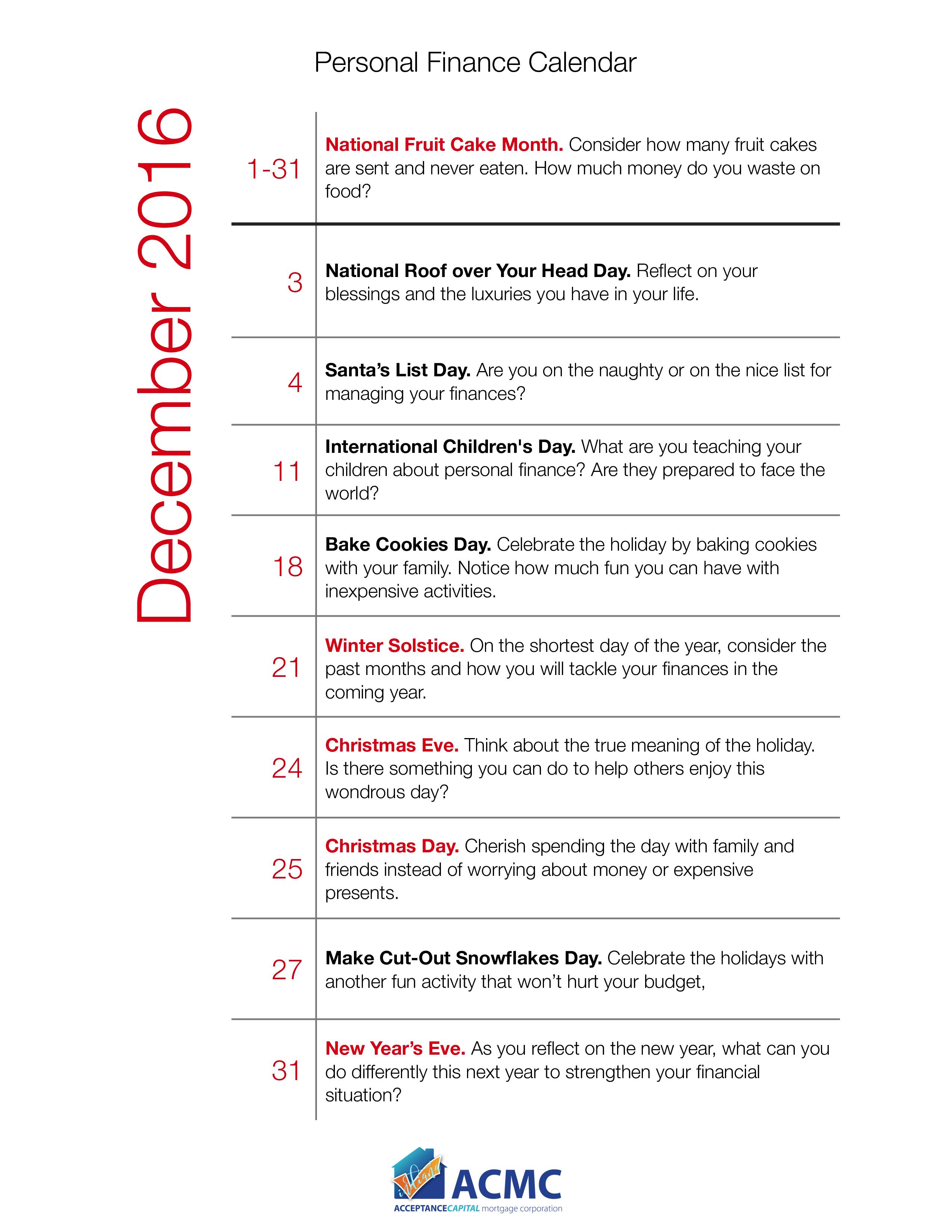 Free Personal Financial Calendar Templates At Allbusinesstemplates