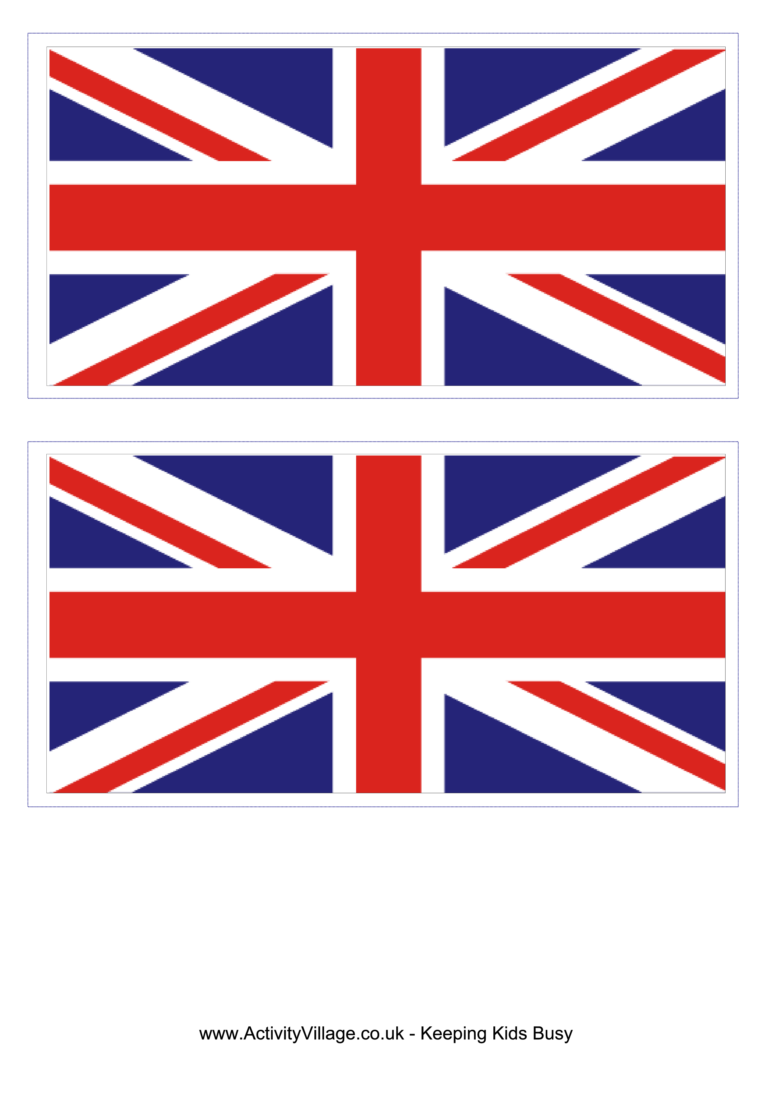 graphic relating to Printable British Flag named United Kingdom Flag Templates at