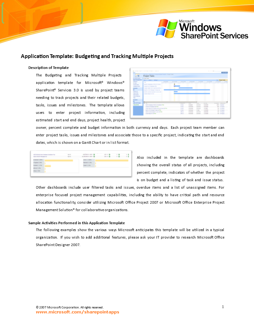free project budget tracking templates at