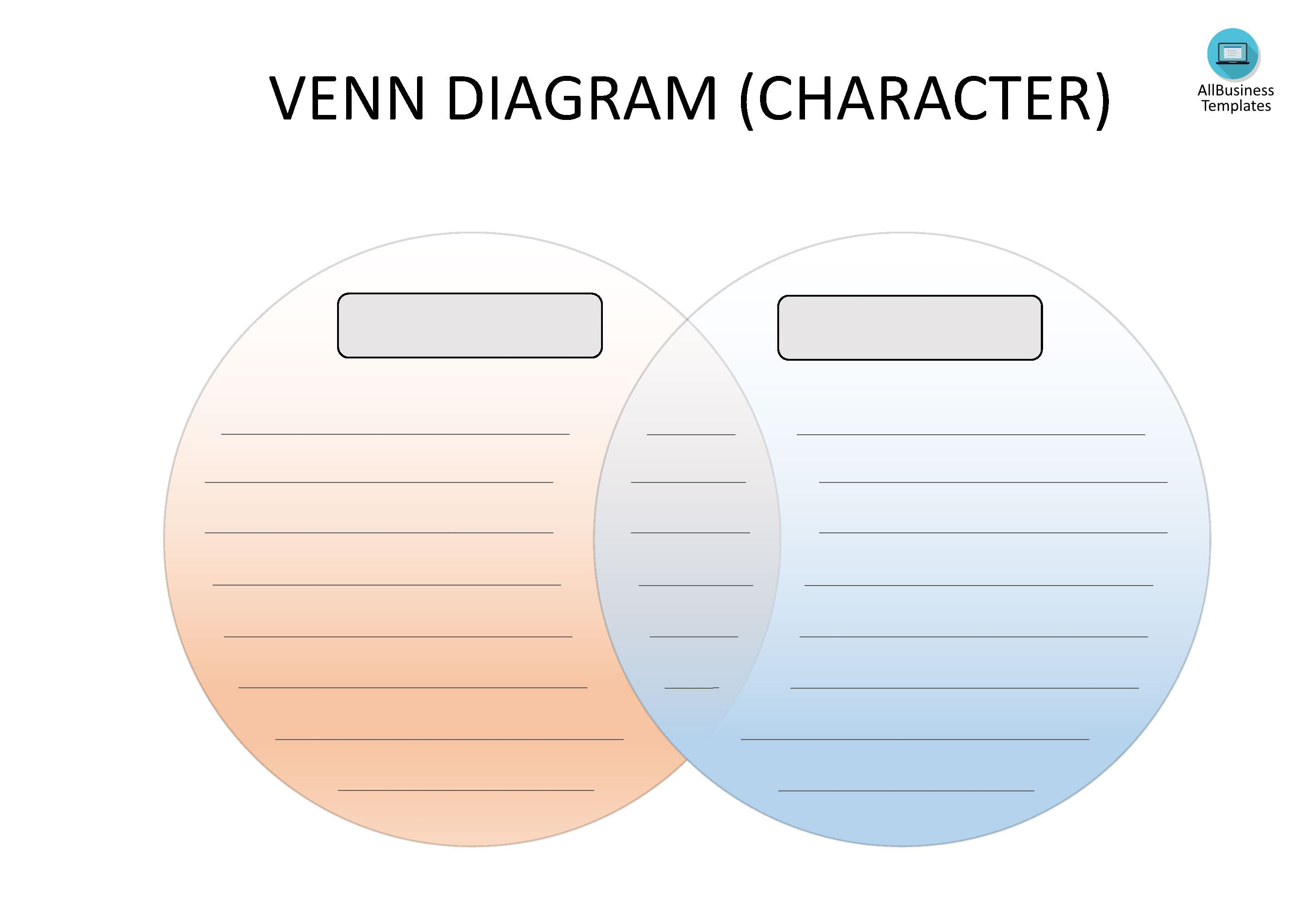 Venn Diagram Organizer main image