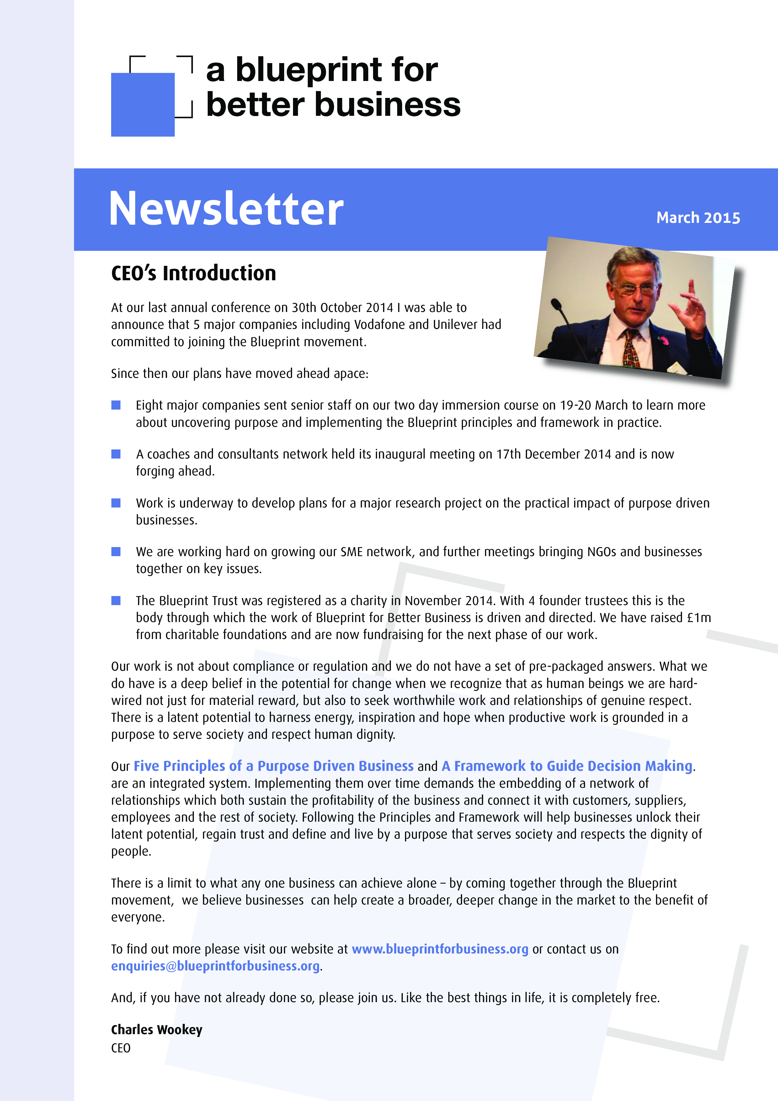 Free business newsletter example templates at allbusinesstemplates business newsletter example main image malvernweather Images