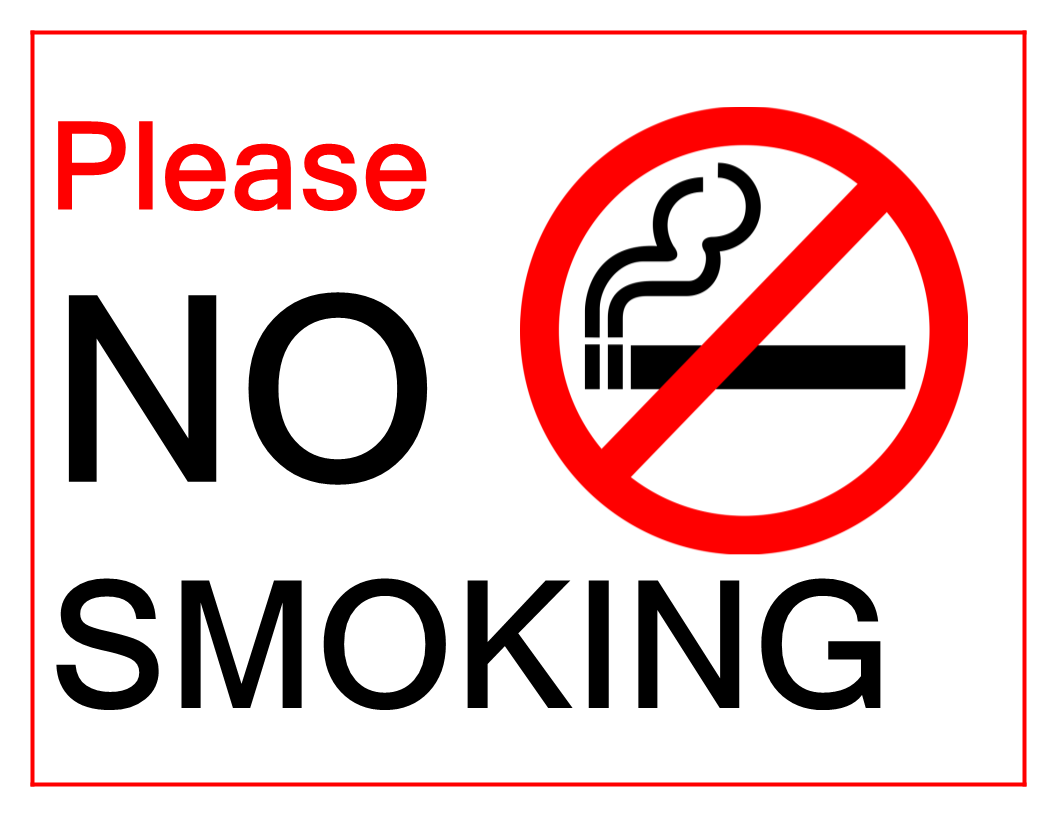 photograph about Printable No Smoking Sign identify No Cigarette smoking Signal Fashion Templates at allbusinesstemplates