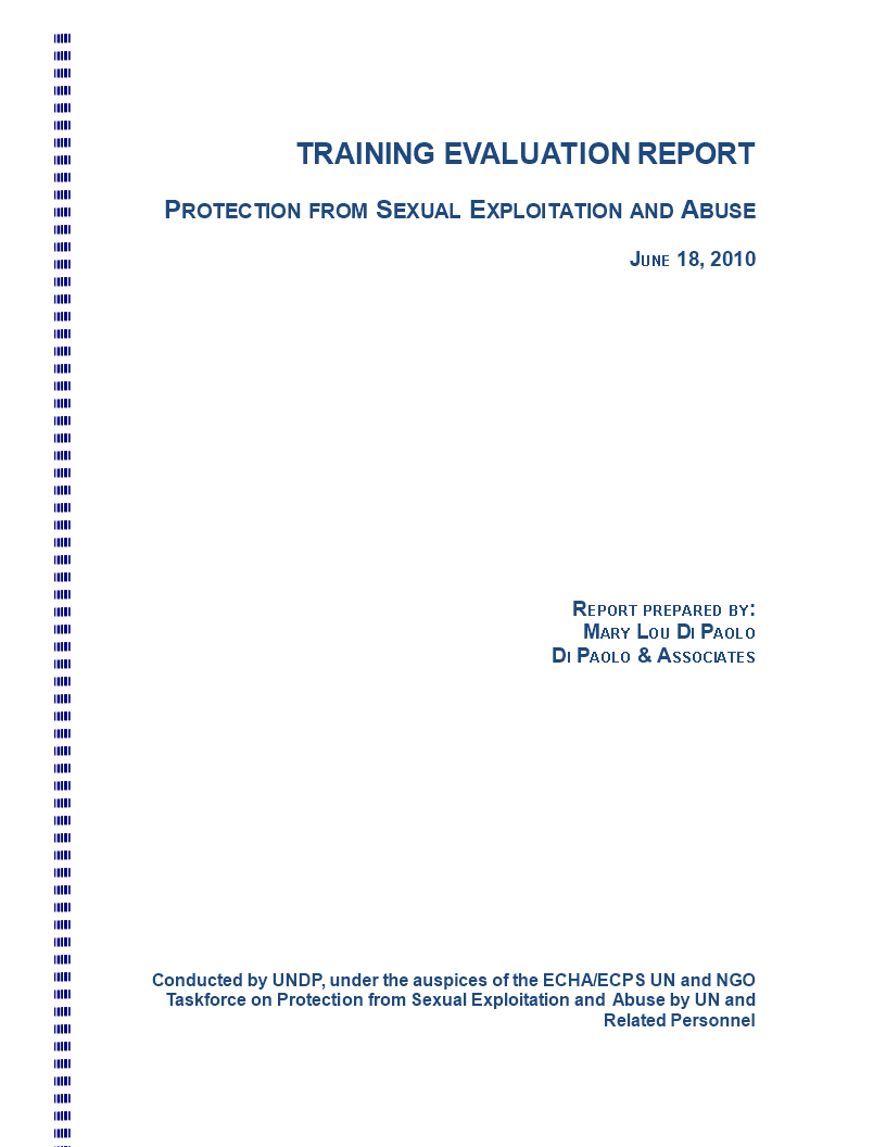 Training Evaluation Main Image Template