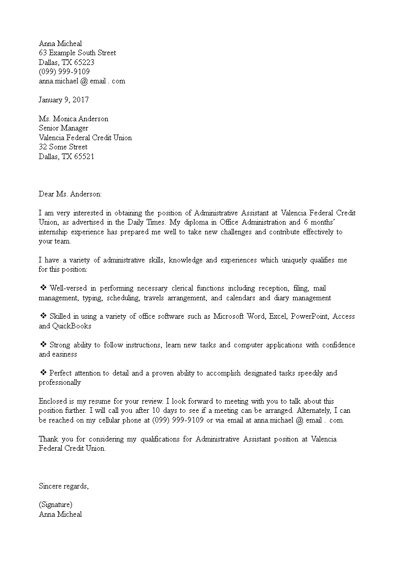 Cover Letter For Administrative Position from www.allbusinesstemplates.com