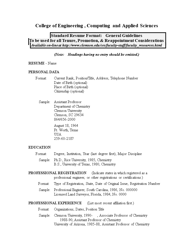Exceptional Lecturer Job Resume S Main Image Download Template