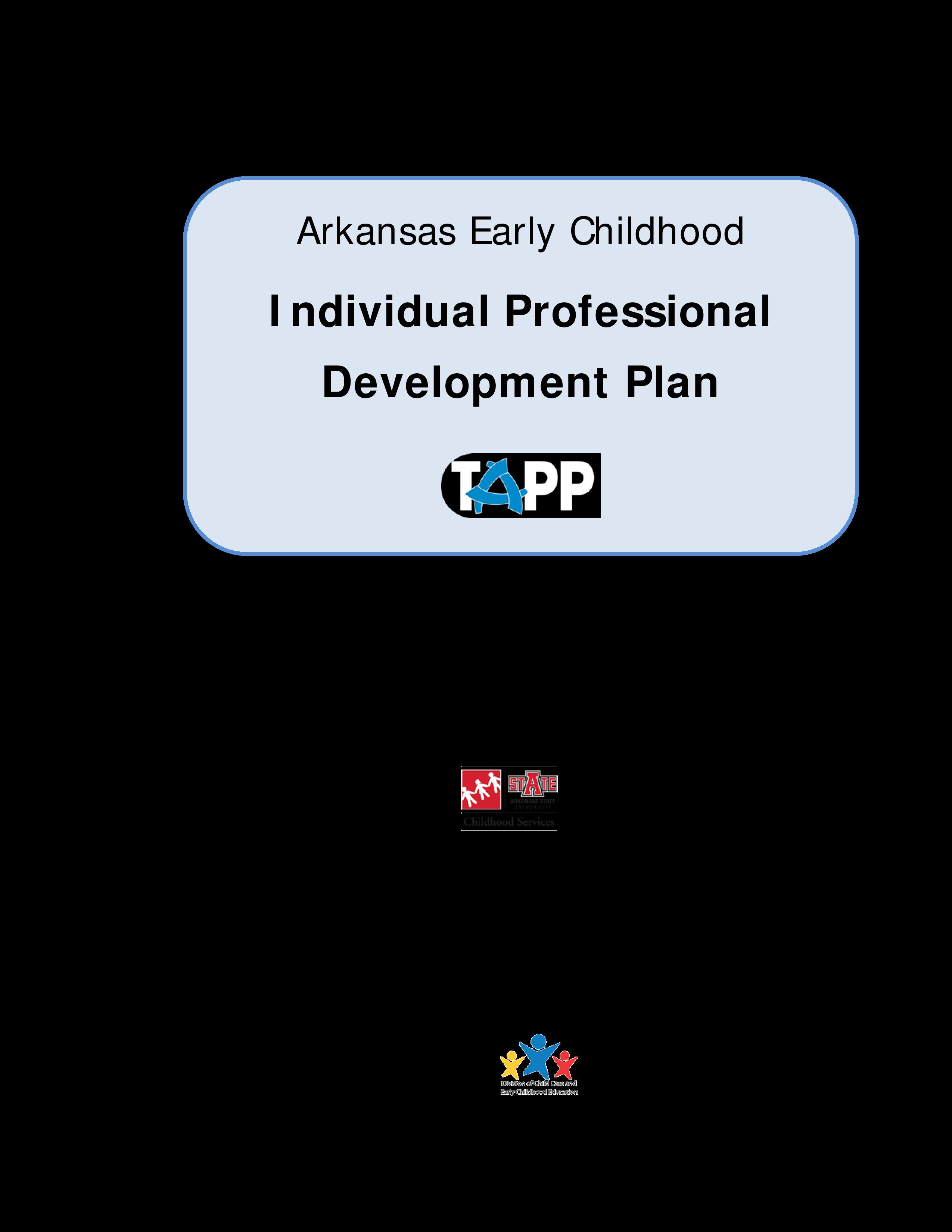Free Individual Professional Development Plan Templates At