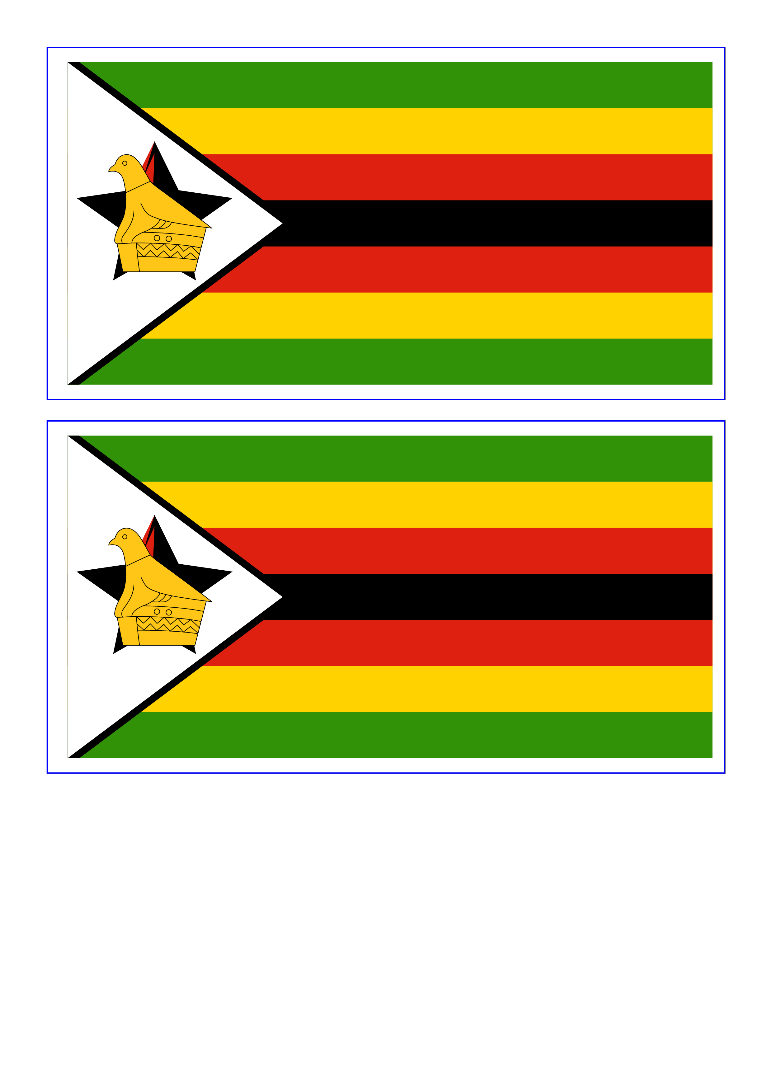 photograph relating to Printable Flags identify Zimbabwe printable flag template Templates at
