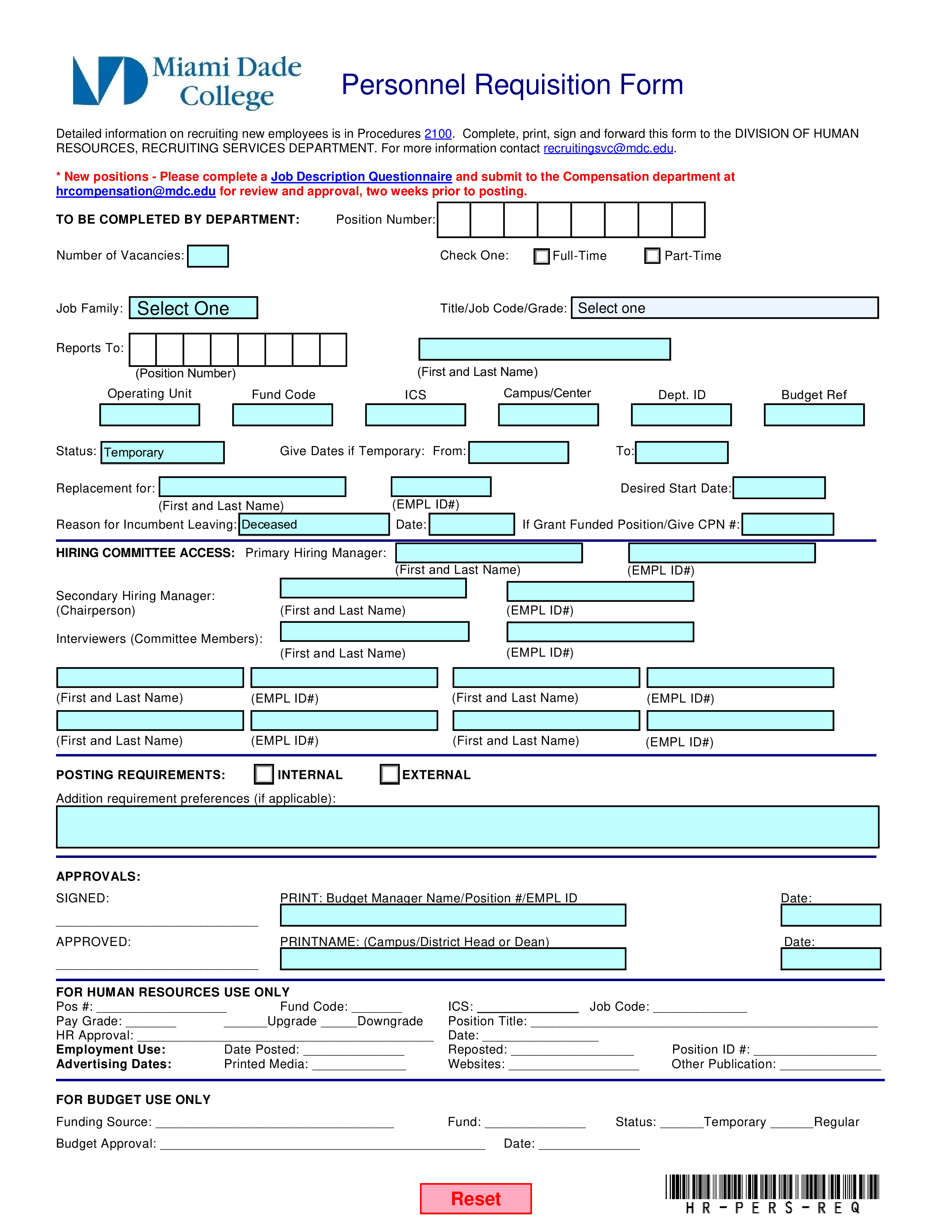 Job Requisition Form Template from www.allbusinesstemplates.com