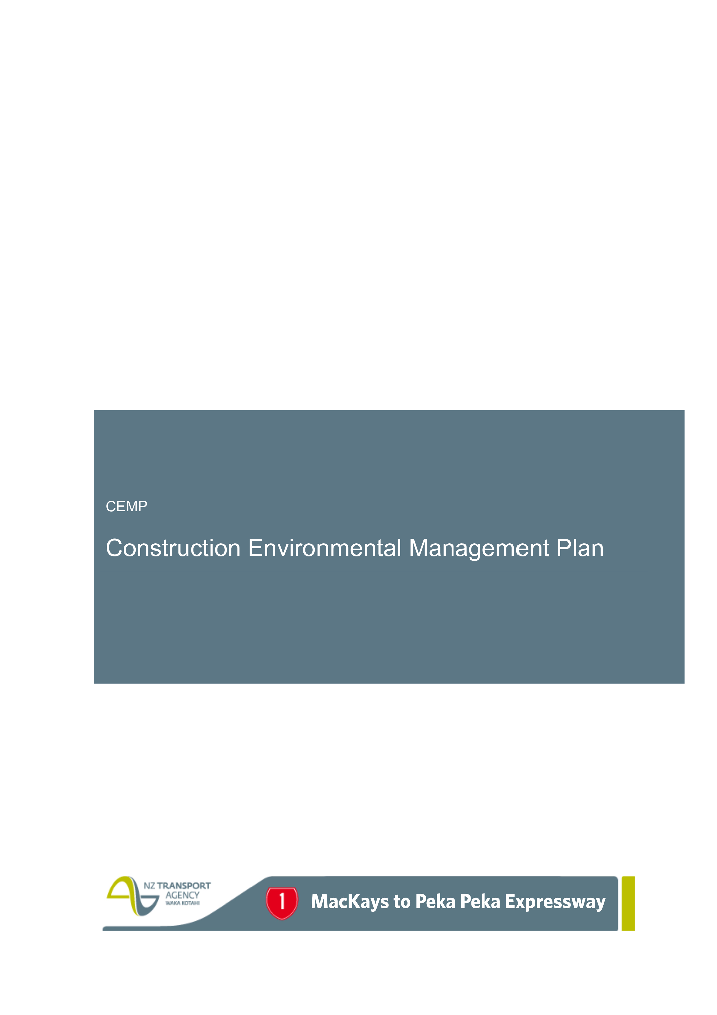 Transport management plan template images professional for Construction environmental management plan template