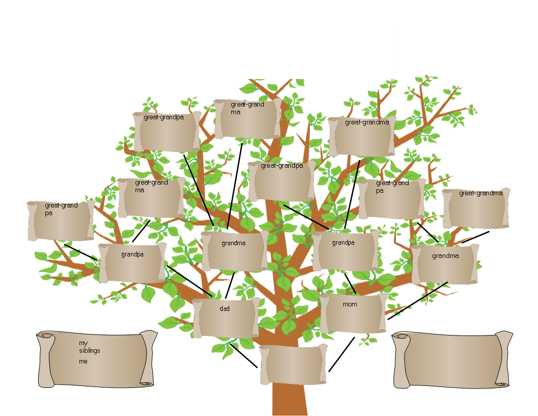 Family Tree Template Word  Templates at allbusinesstemplates.com With Regard To Fill In The Blank Family Tree Template
