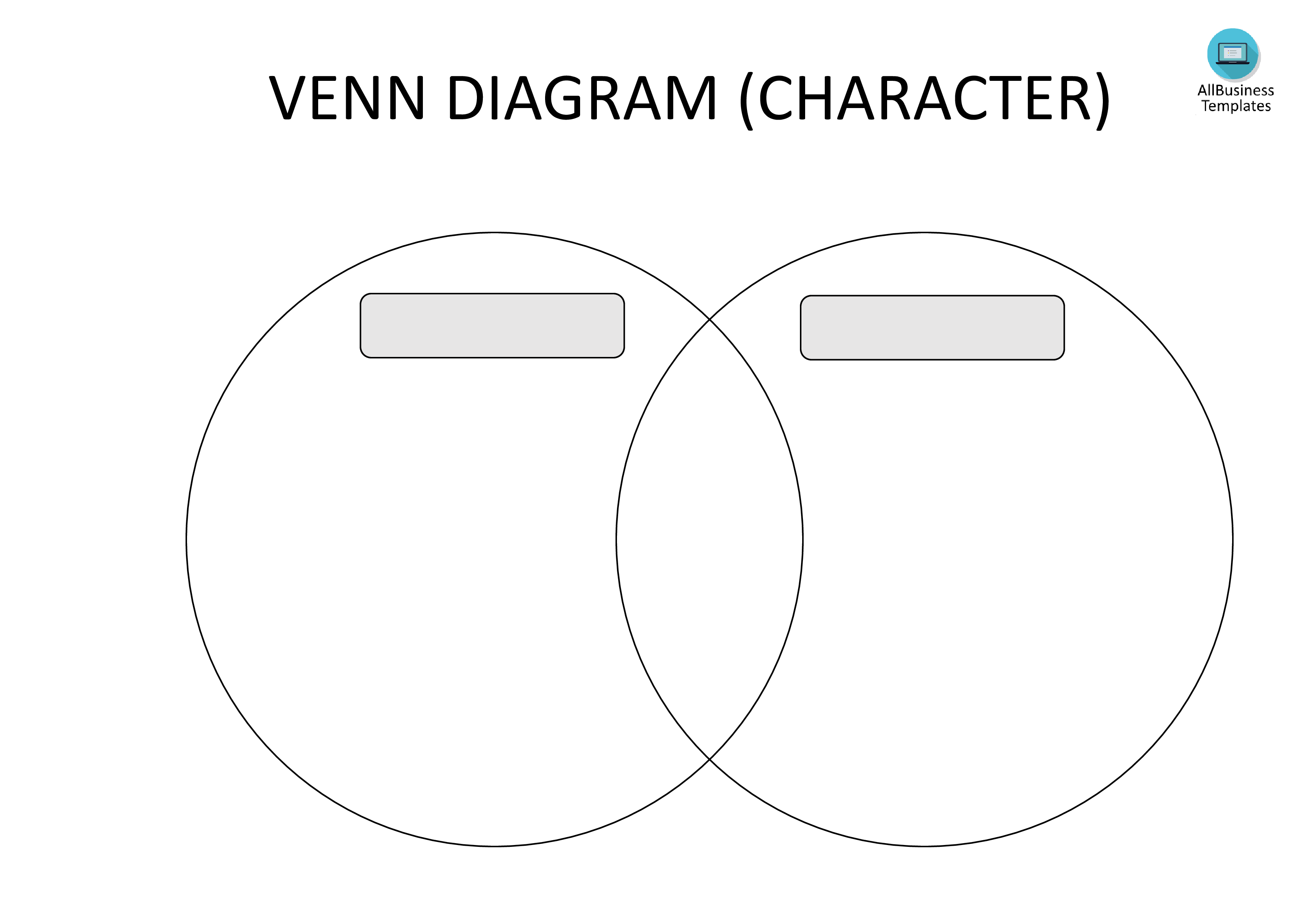 Free blank venn diagram template templates at blank venn diagram template main image pooptronica