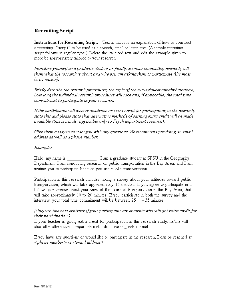 recruiting email adress main image download template