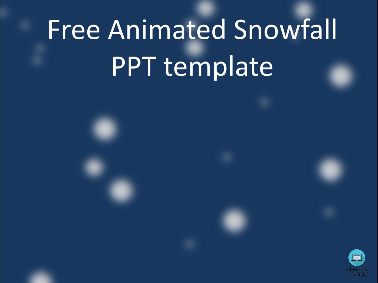 Free snowfall templates at allbusinesstemplates snowfall main image download template toneelgroepblik Image collections