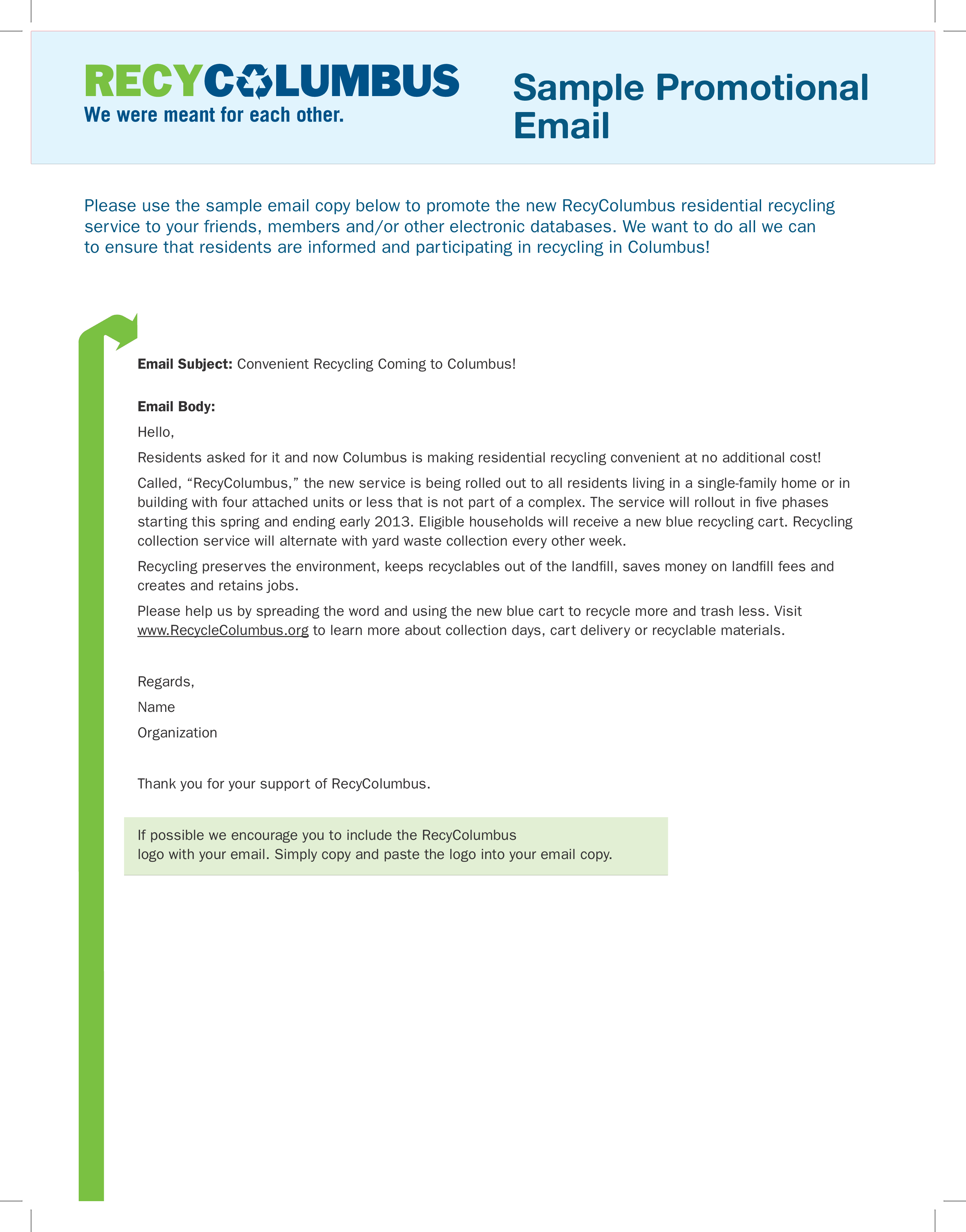 Free Sample Promotional Email Templates At Allbusinesstemplatescom