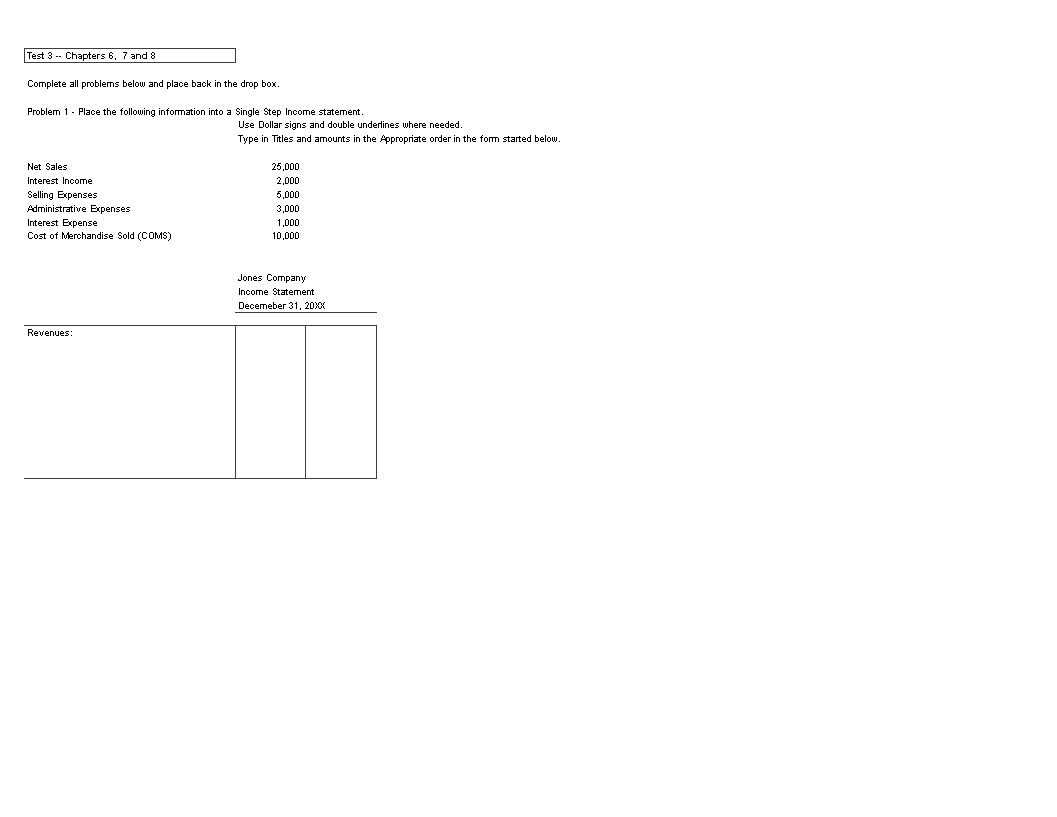 Merchandisers Multi Step Income Statement main image