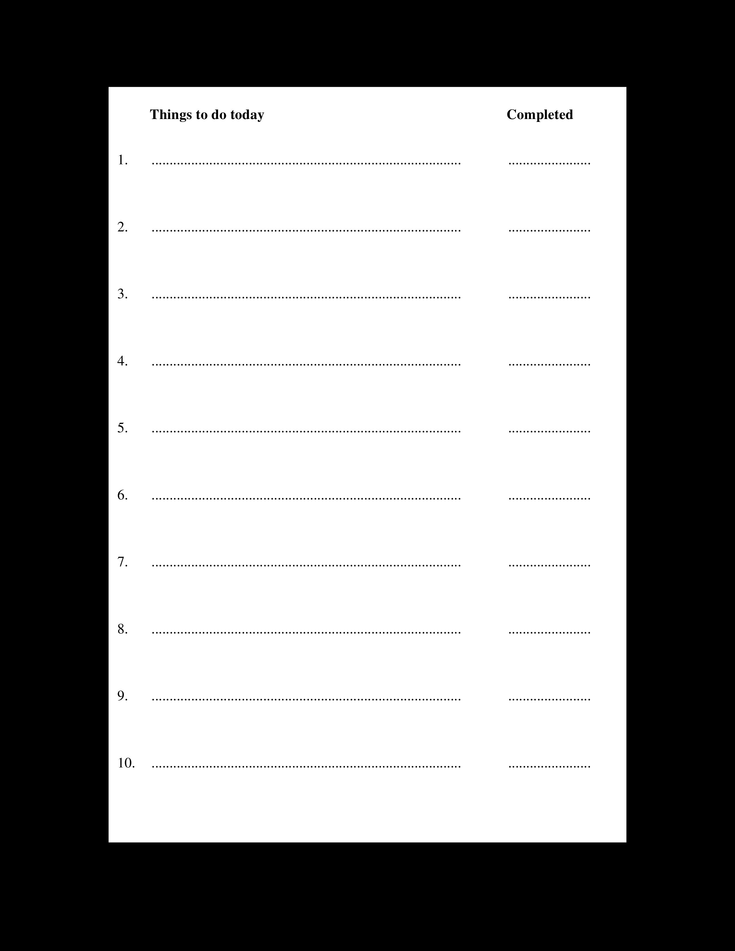 Free Sample Day Planner | Templates at allbusinesstemplates.com