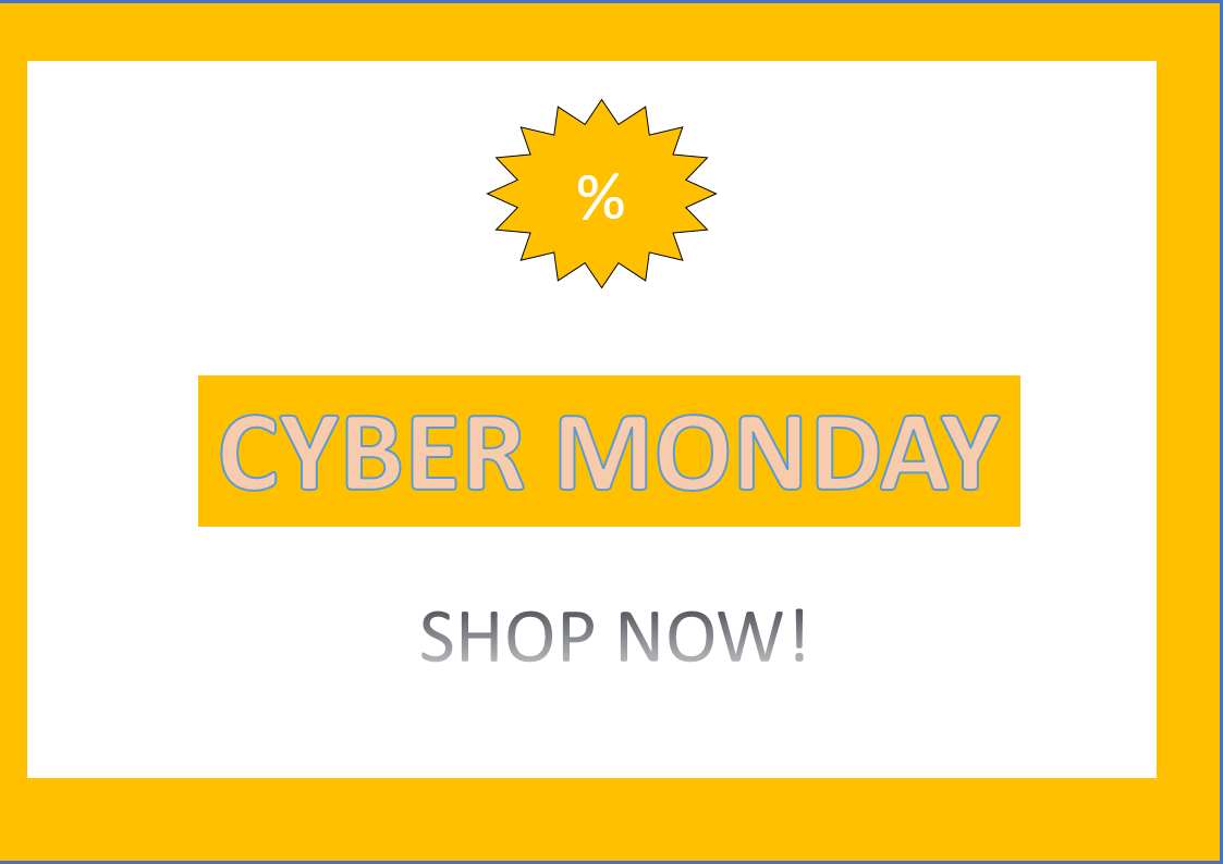 Cyber-Monday Sales Banner main image
