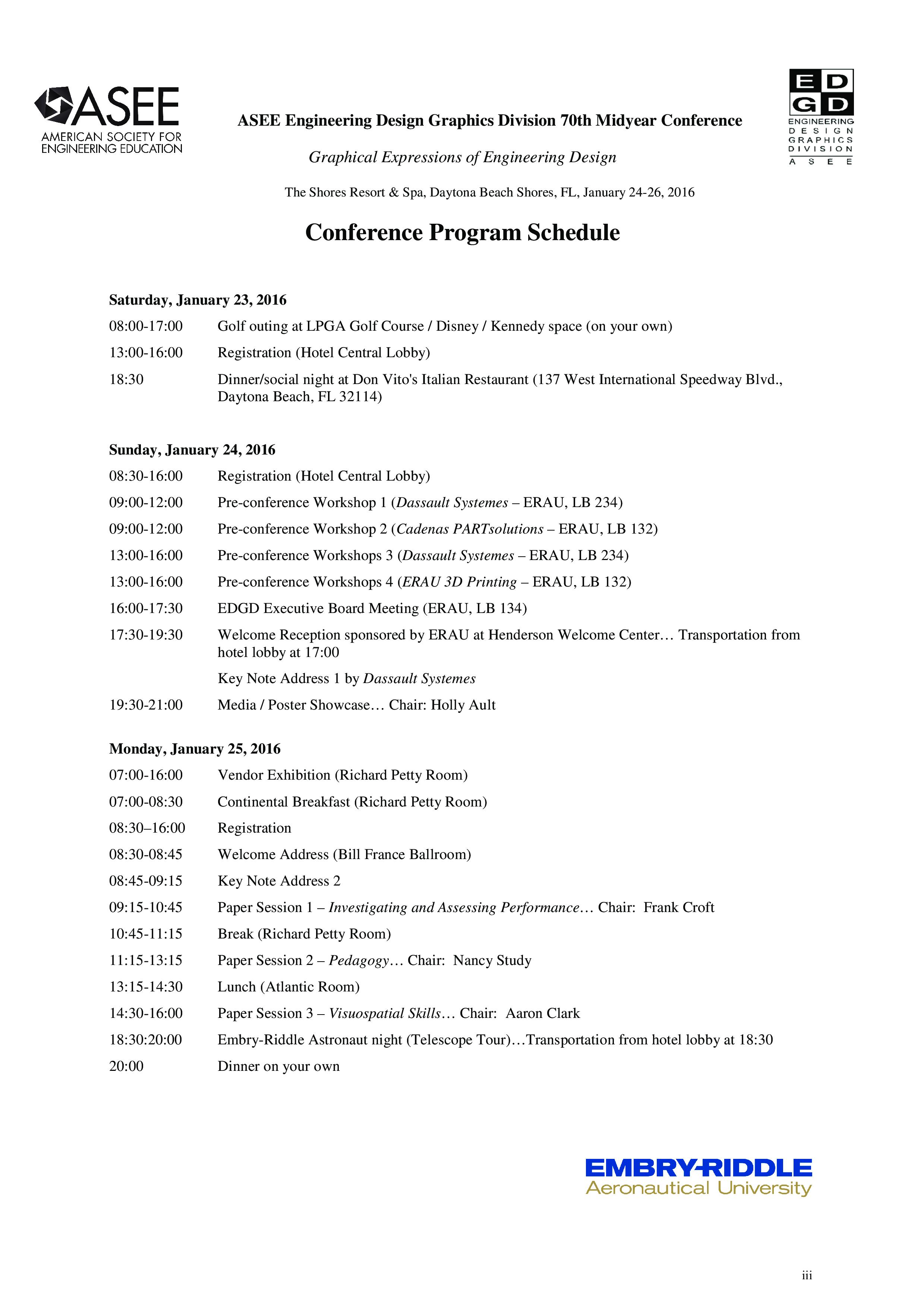 Free Conference Program | Templates at allbusinesstemplates.com