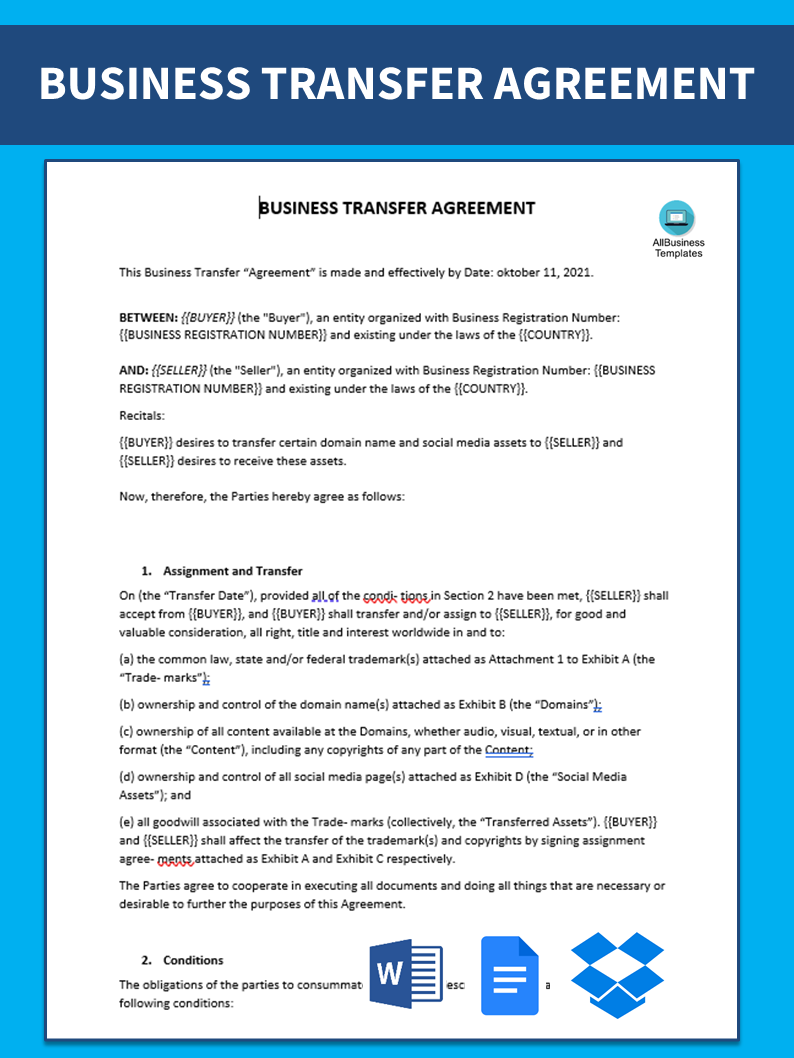 Free business purchase agreement templates at allbusinesstemplates business purchase agreement main image download template wajeb Image collections